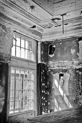 Abandoned Memories Poster by Davina Washington