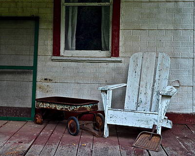 Abandoned Poster by Frozen in Time Fine Art Photography