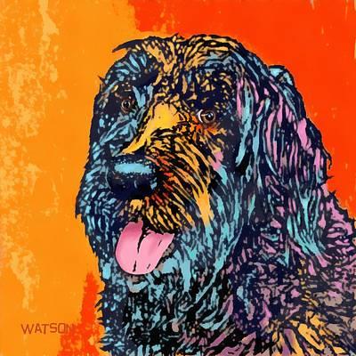 Abbey 2 Poster by Marlene Watson