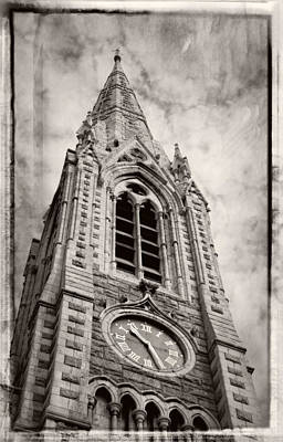 Abbey Church Clock Poster