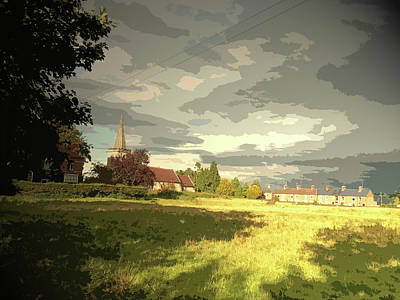 Abbey Fields And St Michaels Church In, Historic Site Poster by Litz Collection