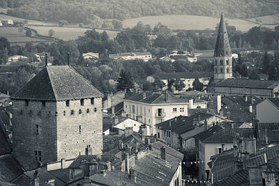 Abbey In A Town, Cluny Abbey Poster by Panoramic Images