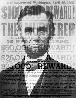 Abe Lincoln Assassination Outrage Poster by Daniel Hagerman
