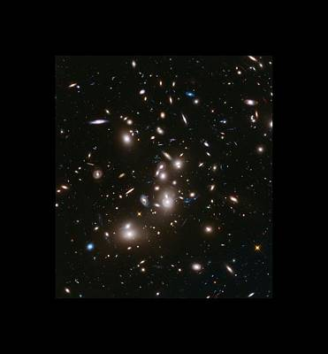 Abell 2477 Massive Galaxy Cluster Poster by L Brown