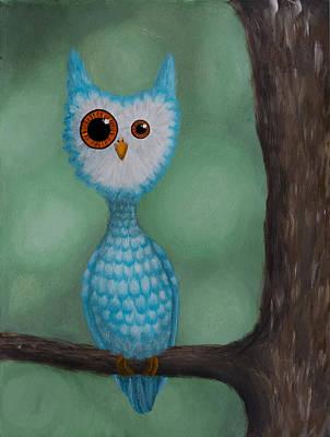 Abnormal Owl Poster