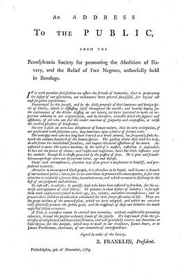 Abolition, 1789 Poster