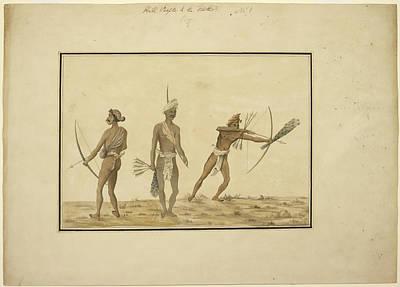 Aboriginals Of Orissa Poster