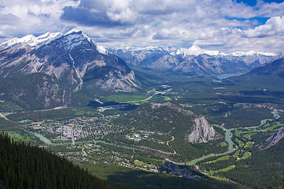 Above Banff Poster by Stuart Litoff