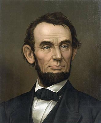 Abraham Lincoln  1877 Poster