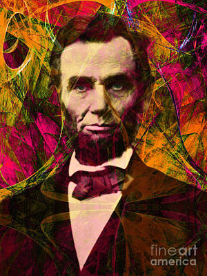 Abraham Lincoln 2014020502 Poster by Wingsdomain Art and Photography