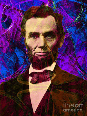 Abraham Lincoln 2014020502m118 Poster by Wingsdomain Art and Photography