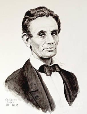 Abraham Lincoln At 49 Poster