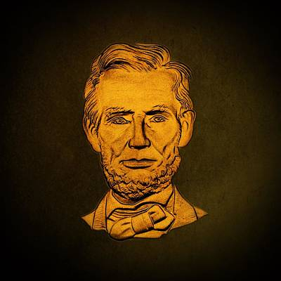 Abraham Lincoln  Poster by David Dehner