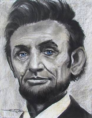 Abraham Lincoln Poster by Eric Dee