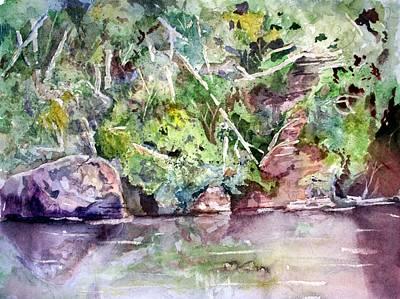 Abram's Creek Poster by Barry Jones