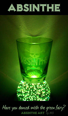 Absinthe - Have You Danced With The Green Fairy? Poster