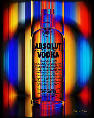 Absolut Abstract Poster by Chuck Staley
