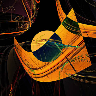 Abstract 45 Poster by Ricardo Szekely