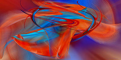 Abstract - Airey Poster by rd Erickson