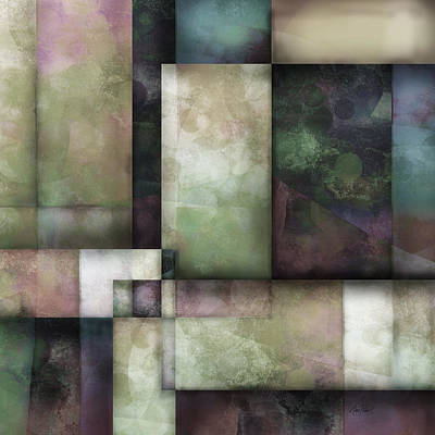 abstract - art-  Spring Twilight One   Poster by Ann Powell
