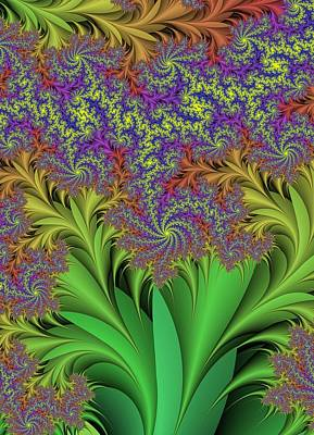 Abstract Design Poster by Paul Sale Vern Hoffman