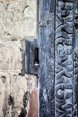 Abstract Door Pattern Poster