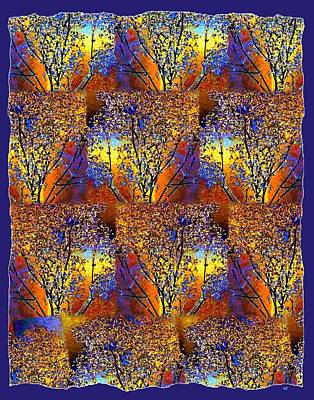 Abstract Fusion 142  Poster by Will Borden