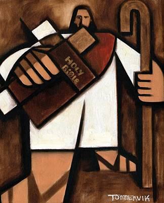 Tommervik Abstract Jesus Art Print Poster