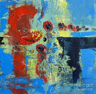 Abstract Landscape No 7 Poster by Patricia Awapara