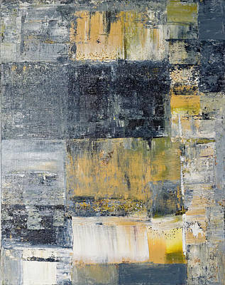 Abstract Painting No. 4 Poster by Julie Niemela