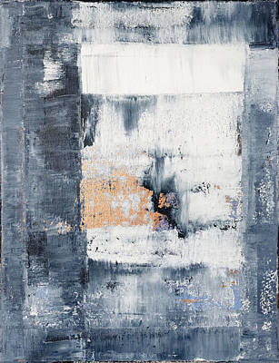 Abstract Painting No.5 Poster by Julie Niemela