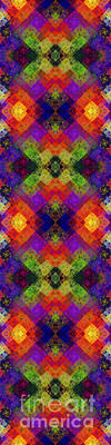 Abstract - Rainbow Connection - Panel - Panorama - Horizontal Poster by Andee Design