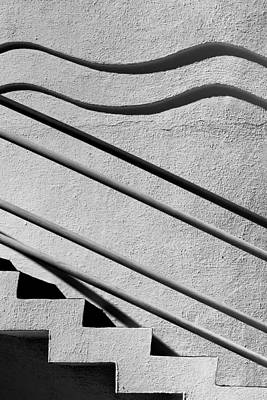 Abstract Stairs Poster