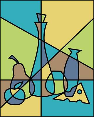 Abstract Still Life Poster