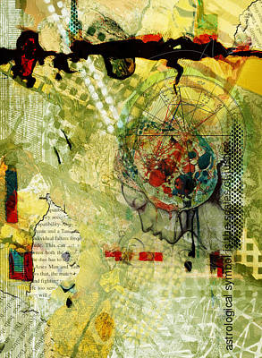 Abstract Tarot Art 009 Poster by Corporate Art Task Force