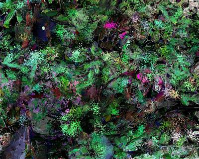 Poster featuring the digital art Abstraction 121514 by David Lane