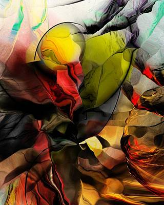 Abstraction 122614 Poster by David Lane