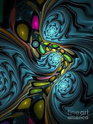 Abstraction 254-06-13 Marucii Poster