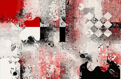 Abstracture - 103106046a Poster by Variance Collections