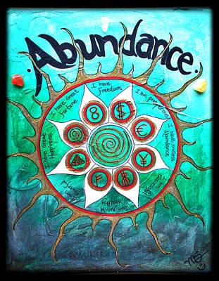 Abundance Money Magnet - Healing Art Poster