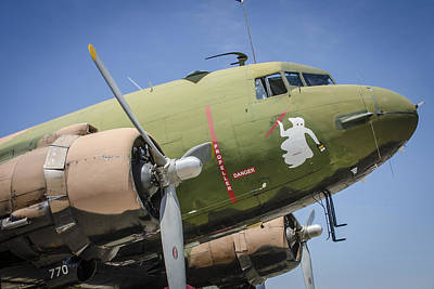 Poster featuring the photograph Ac-47 Spooky by Bradley Clay