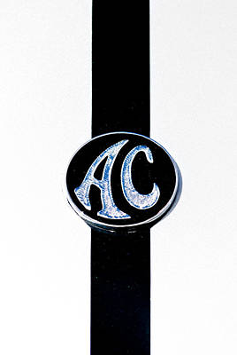 Ac Cobra Badge Poster by Phil 'motography' Clark