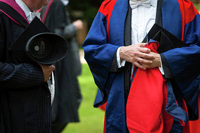 Academic Dress Poster by John Cairns Photography/oxford University Images