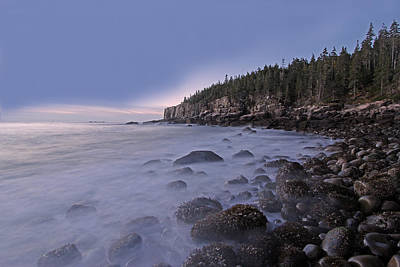 Acadia Morning Mist Poster by Juergen Roth