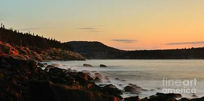 Acadia Morning Poster by Paul Noble