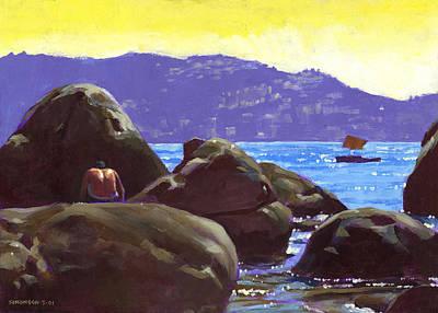 Acapulco Poster by Douglas Simonson