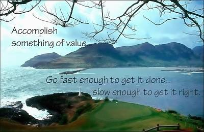 Accomplish Value 21168 Poster by Jerry Sodorff