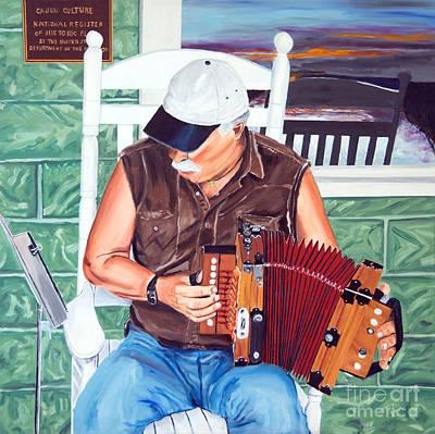 Accorance Man Poster by Jock McGregor