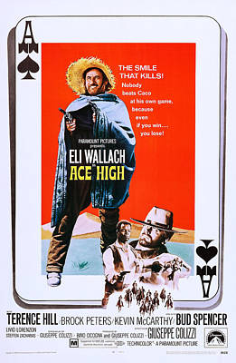 Ace High, Us Poster Art, From Left Eli Poster by Everett