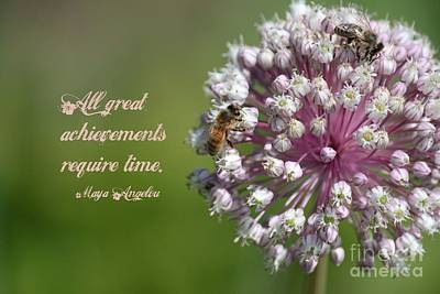 Achievements Require Time Poster
